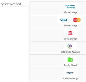 What are your payment methods and conditions?