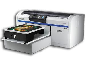 GJS announces availability of Epson SureColor SC-F2000 Direct to Garment Printer
