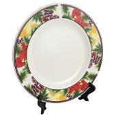 Plates - Ceramic 8″ - Wild Berry Rim
