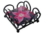 Coaster Racks - Wrought Iron - Square