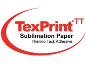 TexPrint Thermo-Tack 100gsm High Release Adhesive Dye Sublimation Paper - Large Format - 1120mm x 36m (44″ x 118ft)