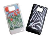 Samsung i9100 Galaxy SII Cover - Plastic - Spare Printable Metal