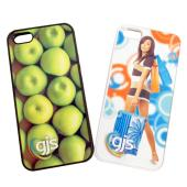 iPhone 5 Phone Cover/Case - Rubber Bumper w/ Print