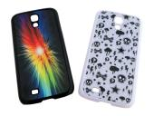 Samsung i9500 Galaxy S4 Cover - Plastic - Spare Printable Metal