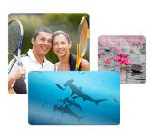 ChromaLuxe Metal Photo Panels -  White Gloss - 8″ x 12″