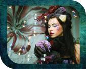 ChromaLuxe Metal Photo Panels Creative Border - Gloss White - Sydney - 10″ x 8″