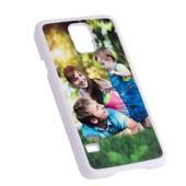 Samsung Galaxy S5 Cover - Plastic - White