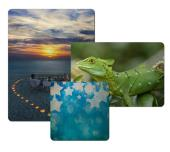 ChromaLuxe Metal Photo Panels - Clear Matte
